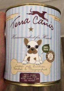 Terra Canis Welpenfutter Bestenliste