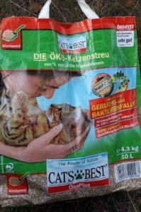 catsbest sehr gut katzenstreu kompostierbar