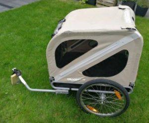 Hundeanhaenger Fahrrad Croozer